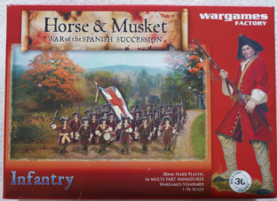 Wargames Factory 28mm WGF-HM001 War of Spanish Succession Infantry